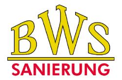 Logo BWS Sanierung